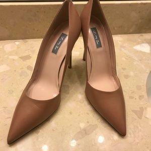 🆕SJP Sarah Jessica Parker Brown High Heels Pumps